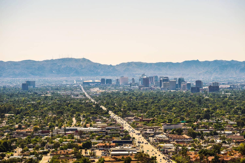 Phoenix metro area commercial real estate market