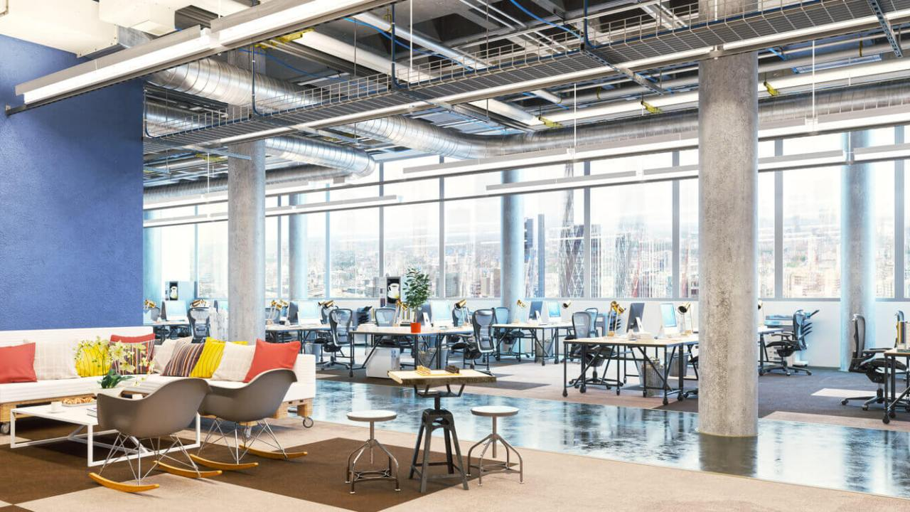 4,283 Office Buildings Created Through Adaptive Reuse in Last 100 Years