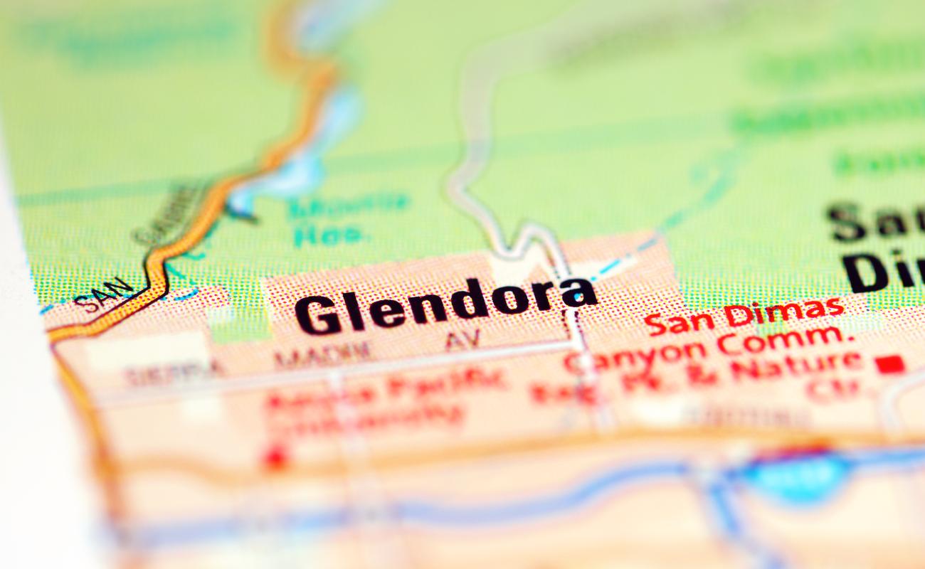 pinpoint of Glendora California