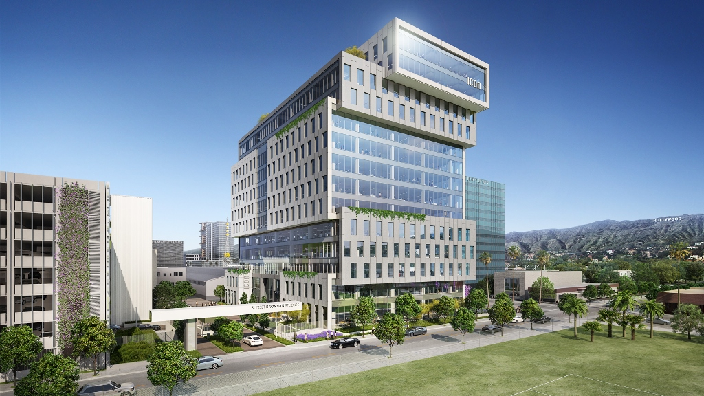 HPP ICON Office Tower Rendering