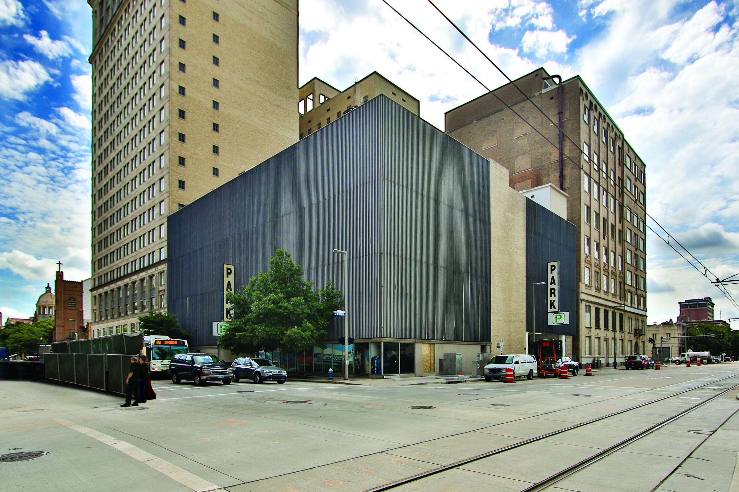 MVP REIT acquired this four-story, 265-space garage in downtown Houston in June as part of a five-property portfolio.