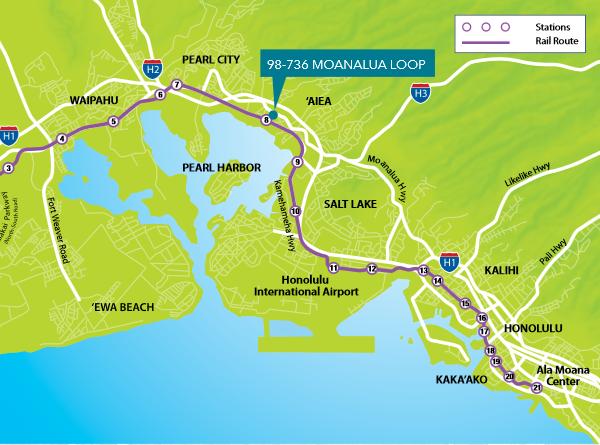 98-736 Moanalua Loop in Aiea, Oahu