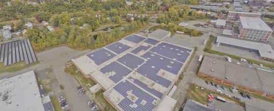 Holyoke Rooftop Solar Installation