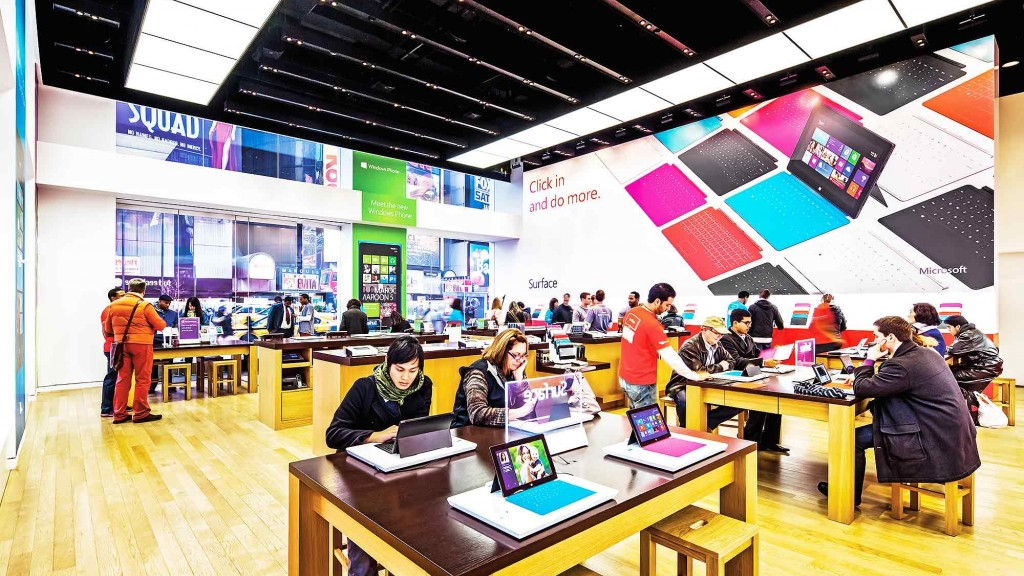 Microsoft pop-up store - Manhattan