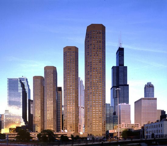 the Presidential Towers