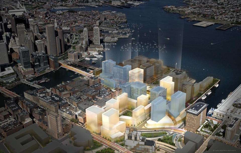 Seaport Aerial, Courtesty of WS Develoment