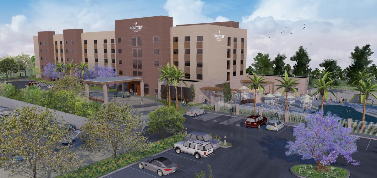 Rendering of the Country Inn & Suites
