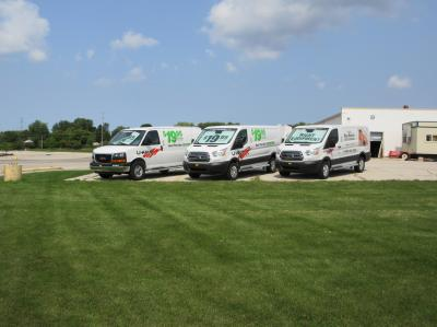 Moving Trucks at East Town Moving & Storage of Green Bay