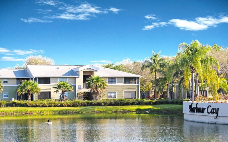 The Harbour Cay community.