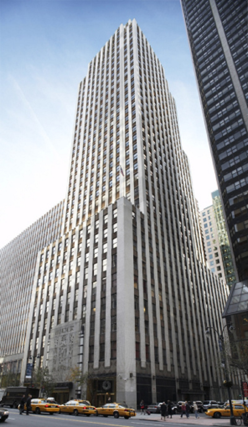 The News Building, 220 E. 42nd St., New York.