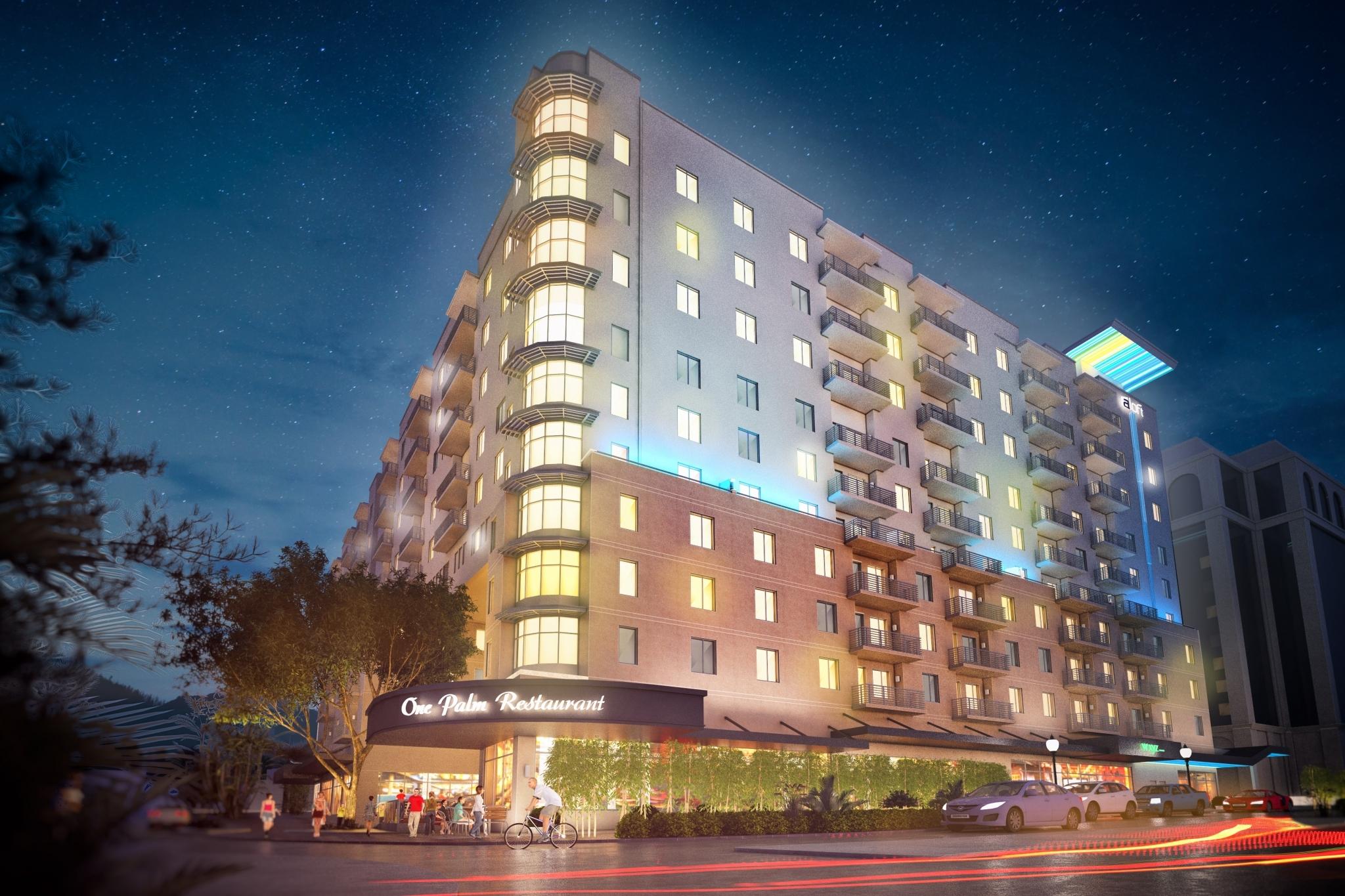 Rendering of Aloft Sarasota Hotel