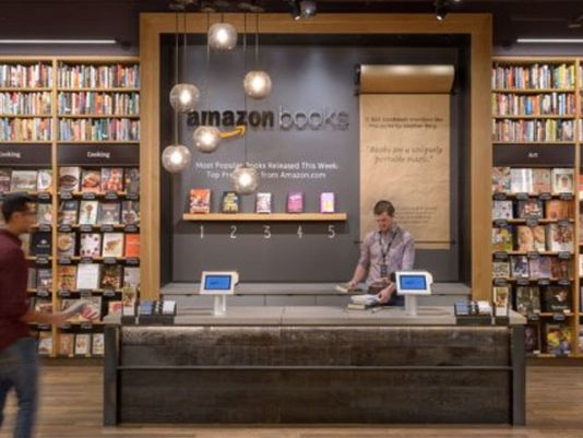 Amazon could open more bookstores like this one in Seattle. (Photo: Amazon)