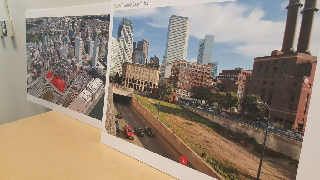 The 185 Kneeland St. parcel and plans for redevelopment presented by Mass. Gov. Charlie Baker