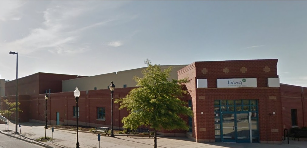 The former Carmelo Anthony Youth Development Center in baltimore