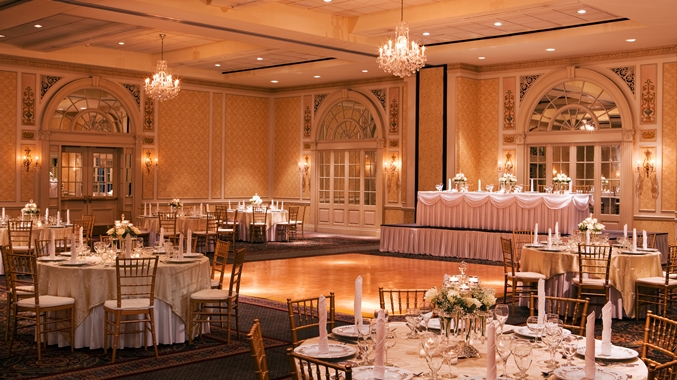 The Hotel Roanoke & Conference Center, the Crystal Ballroom