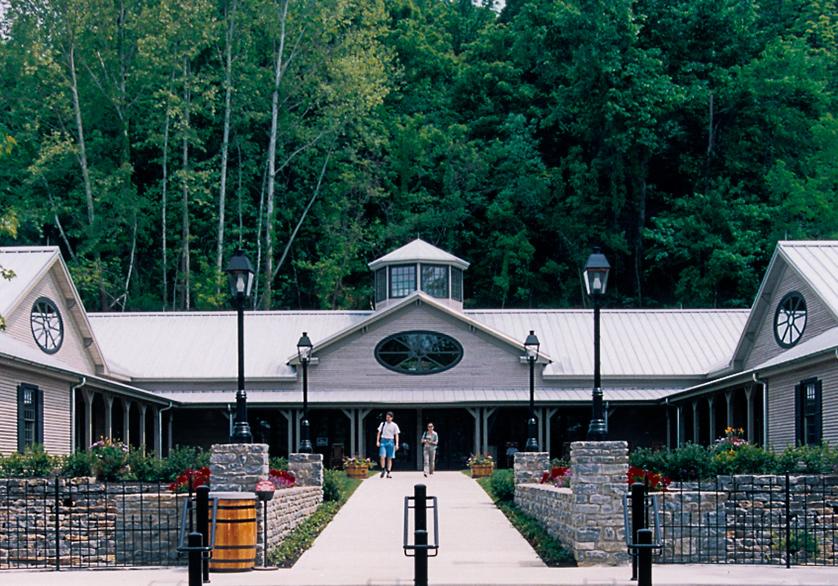 The Visitor Center at Jack Daniel Distillery