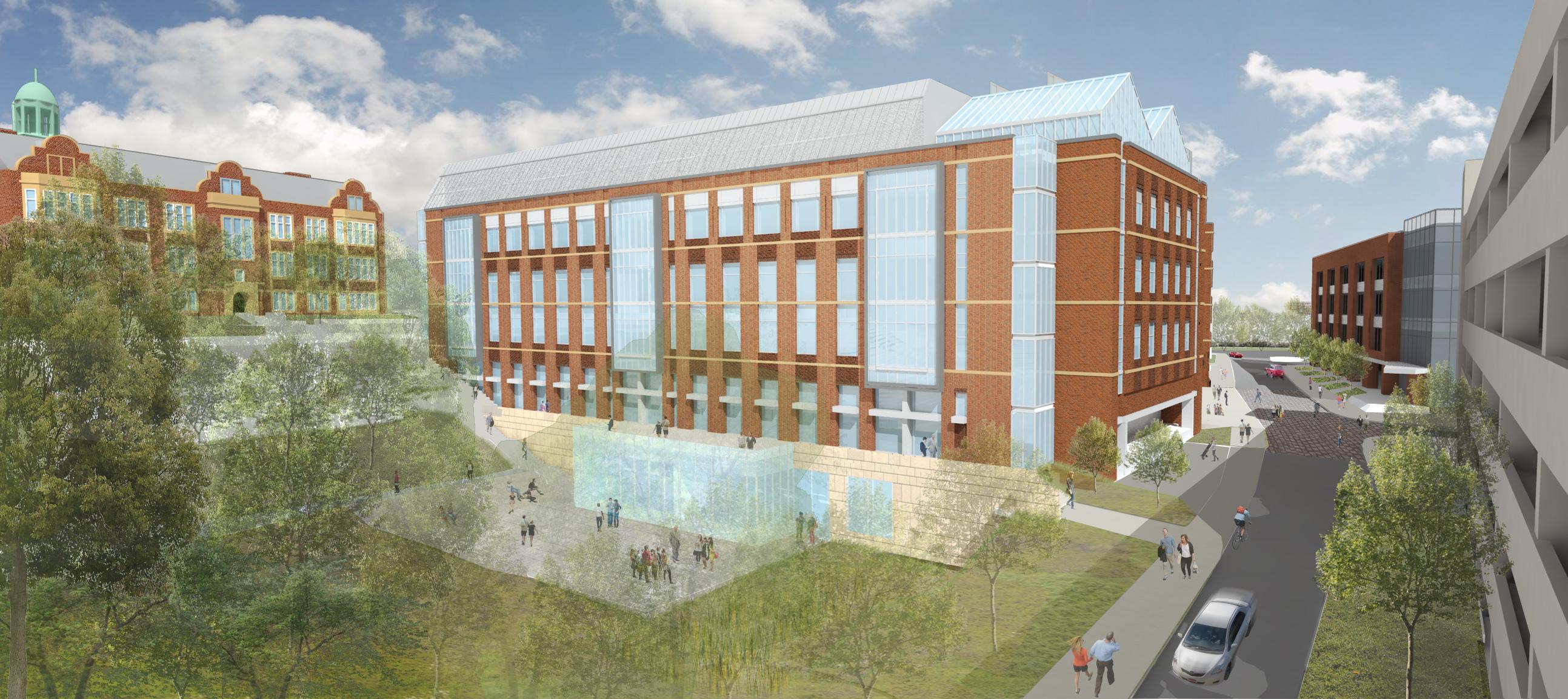 Towson University fcsm-building rendering 1