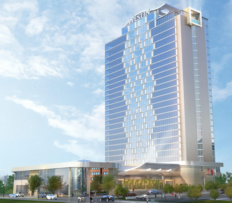 Westin Nashville - rendering of the project