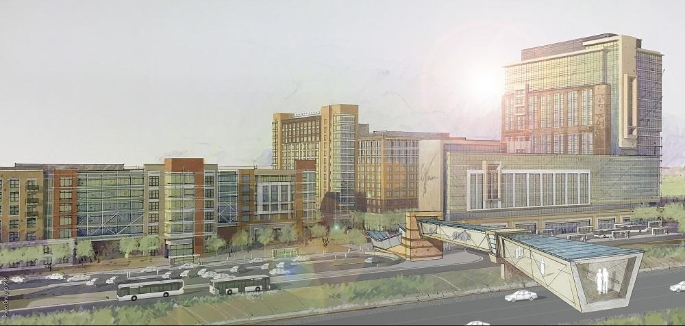 Rendering of the Gramercy District development in Loudoun County, Va.