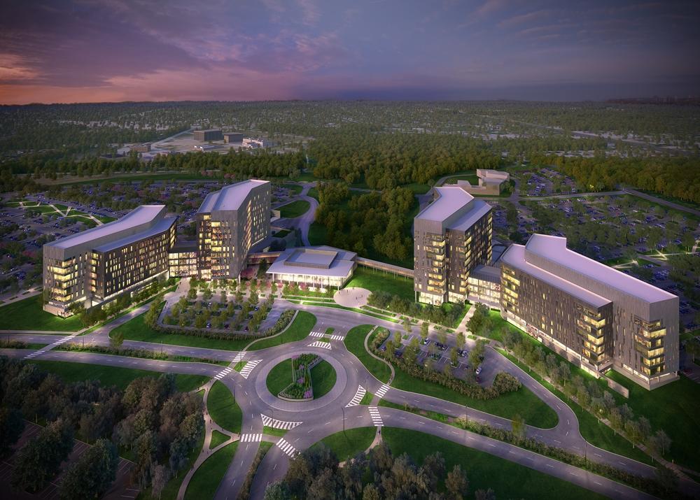 Rendering of Cerner's Kansas City office park