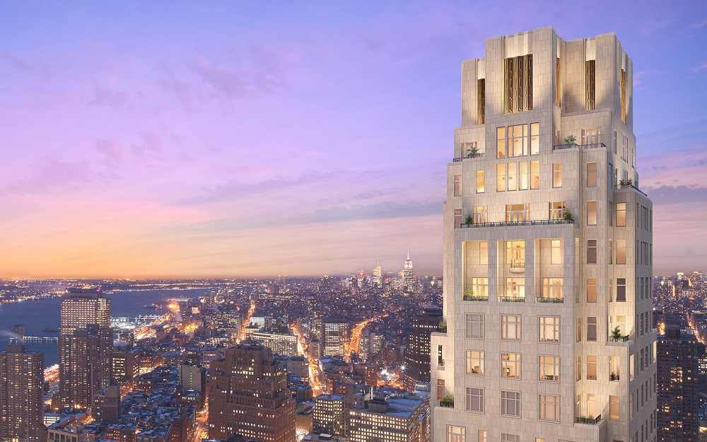 Rendering of 30 Park Place, New York