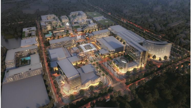 Rendering of Related's future Santa Clara project