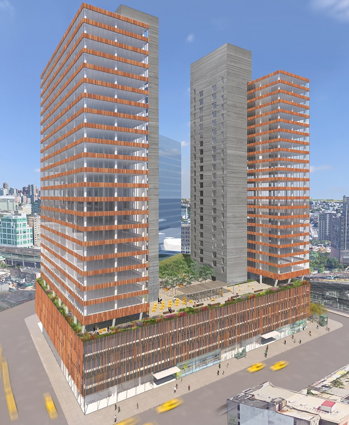 Long Island City project rendering