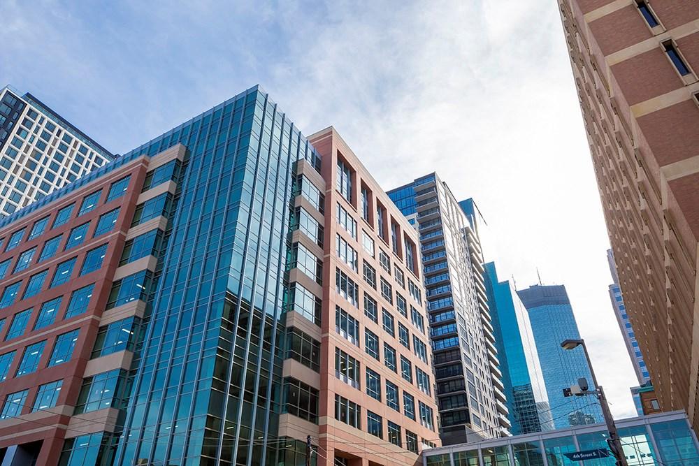 Xcel Energy's new office at 401 Nicollet, Minneapolis