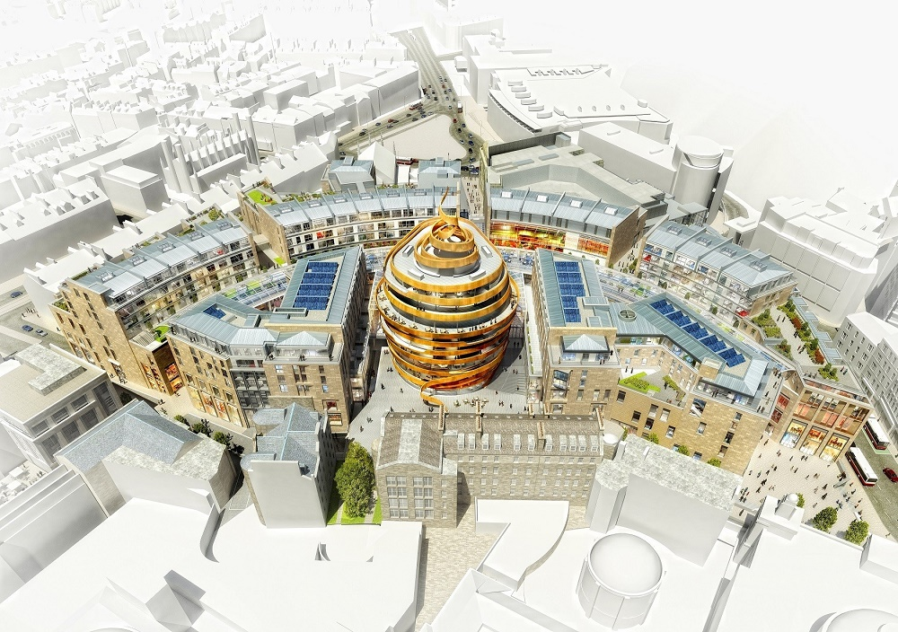 W Edinburgh hotel rendering
