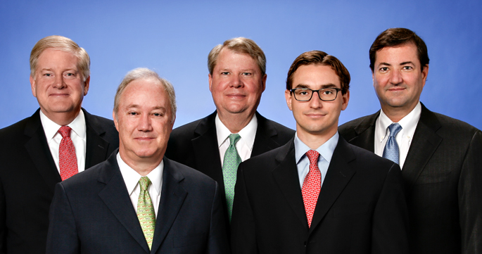 Left to right: Jim Yoder, Paul Smith, Fred Hamm, David Seifert and Mike Lewis of Velocis