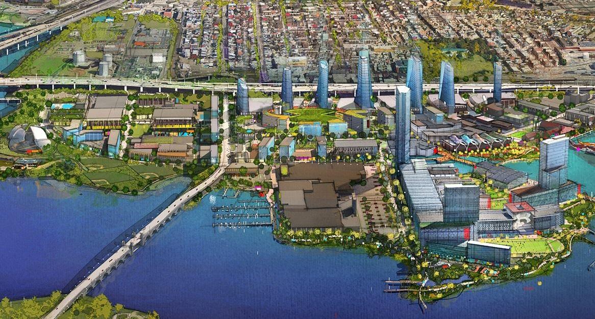 Port Covington rendering