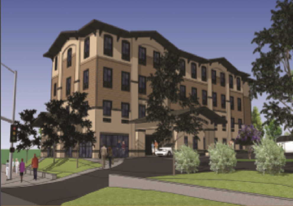 Rendering of The Abernathy at Clemson