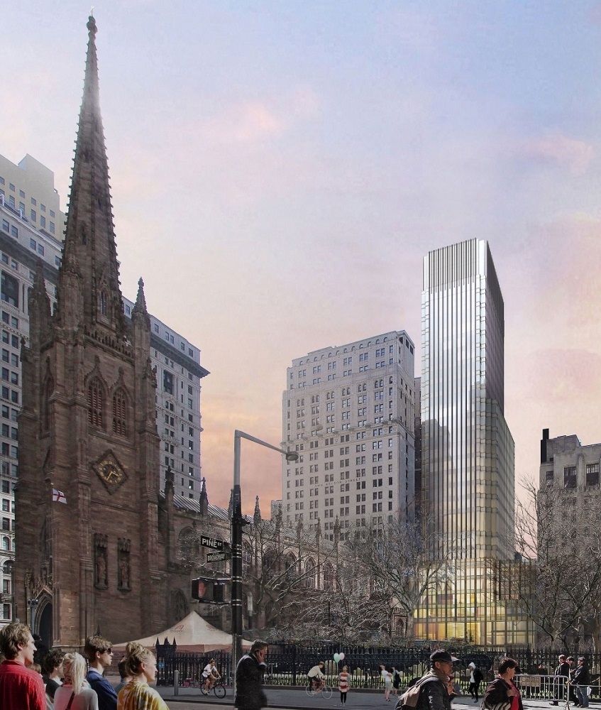 74 Trinity Place, courtesy of Trinity Church Wall Street