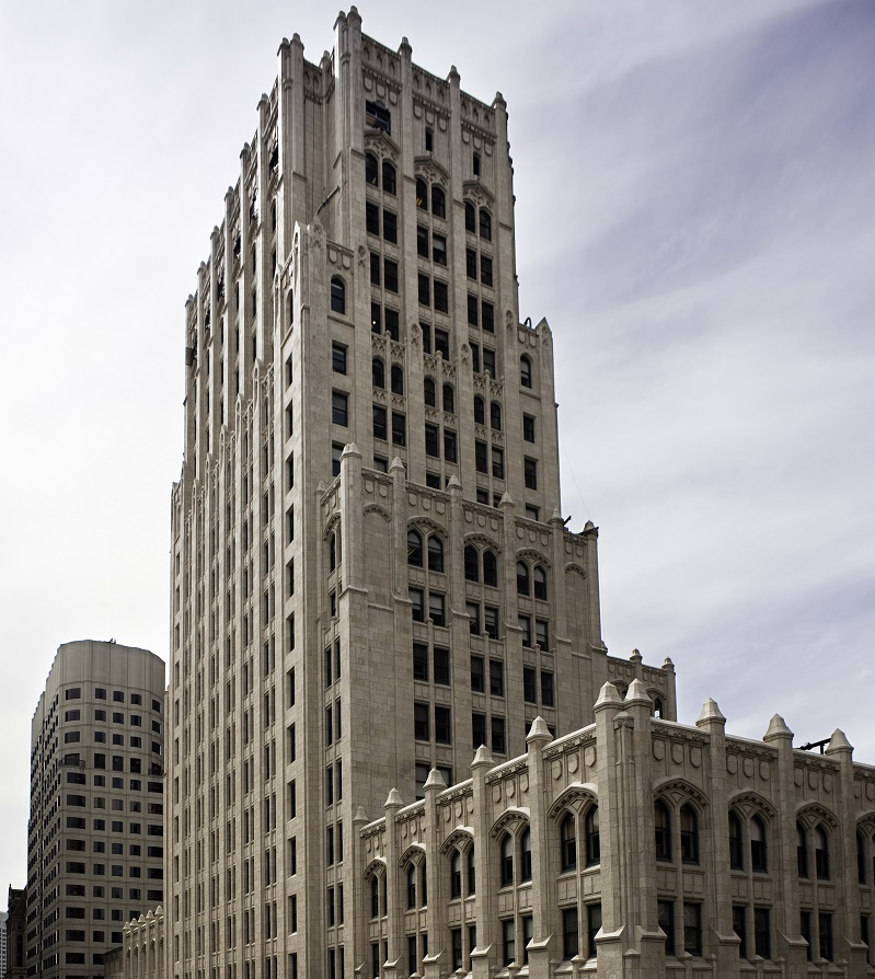 The Russ Building, Shorenstein's historic 31-story office tower in San Francisco, earned LEED Gold Certification.