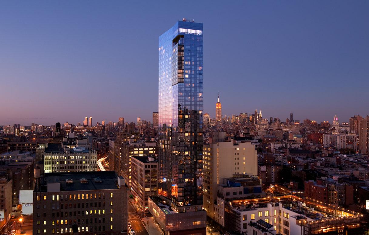 The Trump Hotel in New York