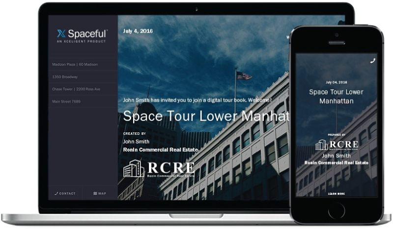 Xceligent Spaceful Interface