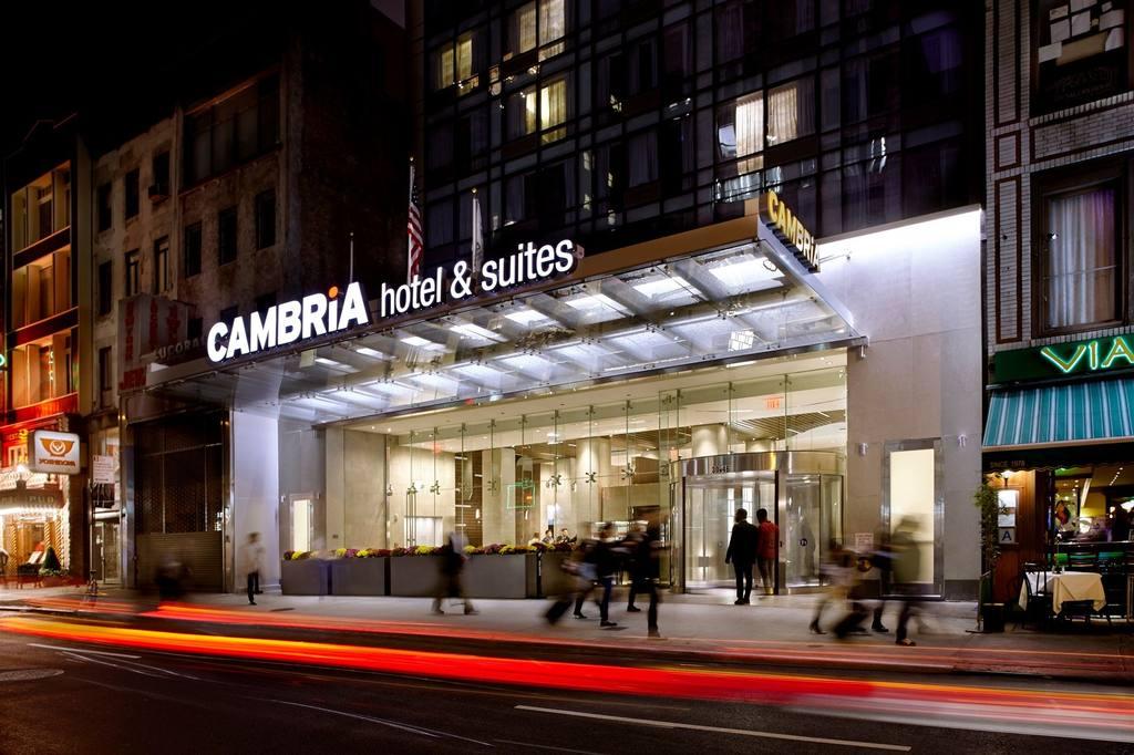 The Cambria Hotel in Times Square, New York