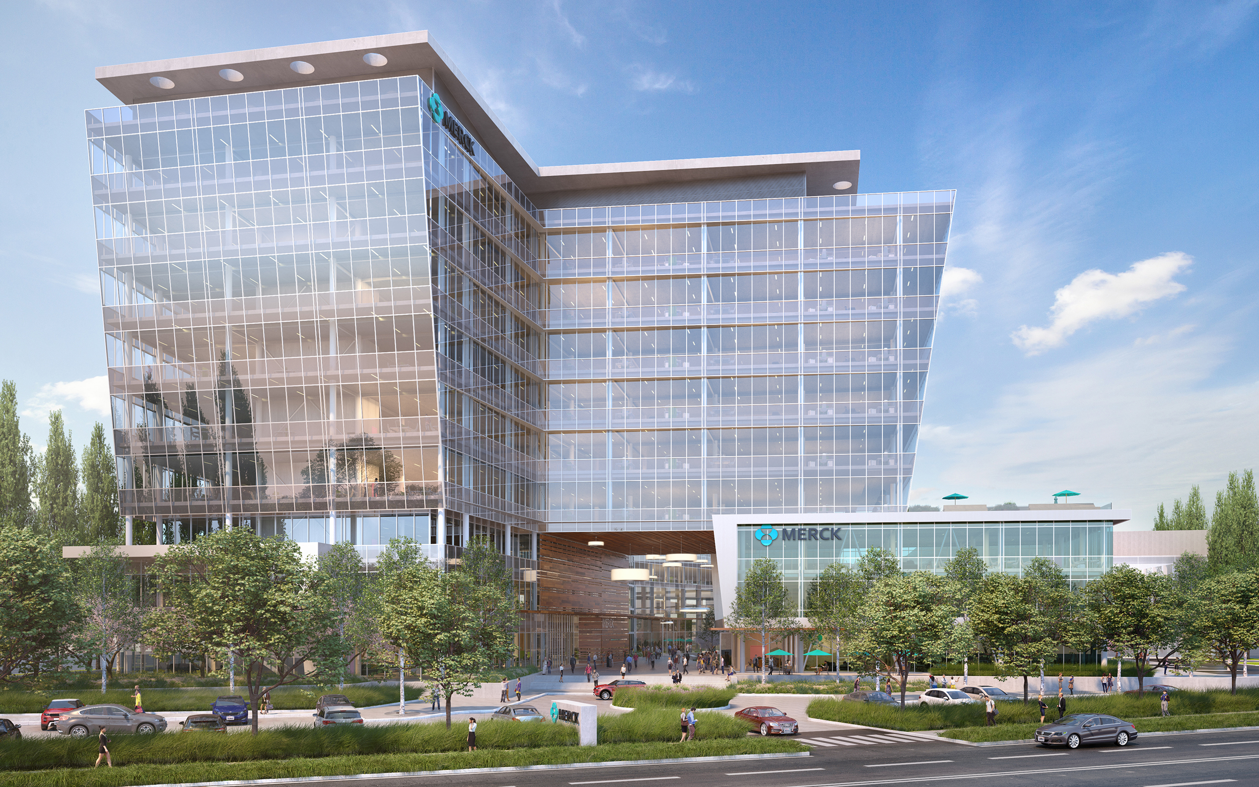 Alexandria will develop an R&D facility for Merck in South San Francisco.