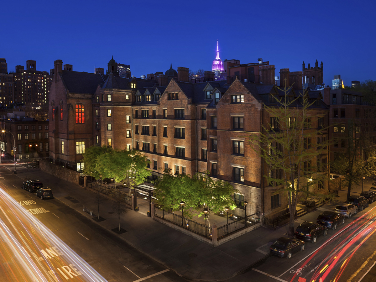 MCR Development converted a 19th-century seminary building into the High Line Hotel, a boutique property in Manhattan's Chelsea neighborhood. Photo courtesy of MCR Development