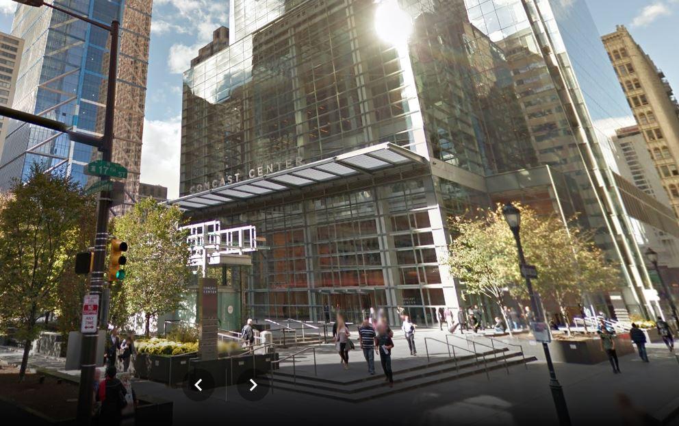 Comcast Corp.'s headquarters in Philadelphia, Pa.