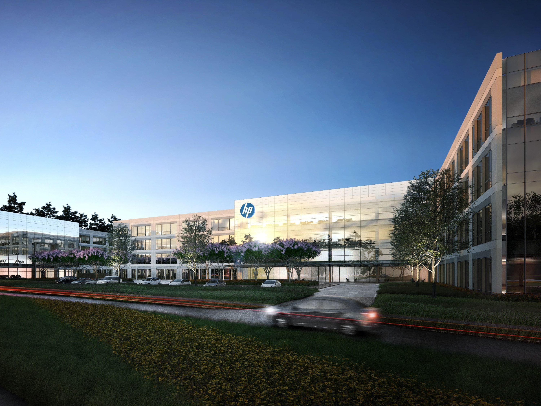 HP Campus Rendering