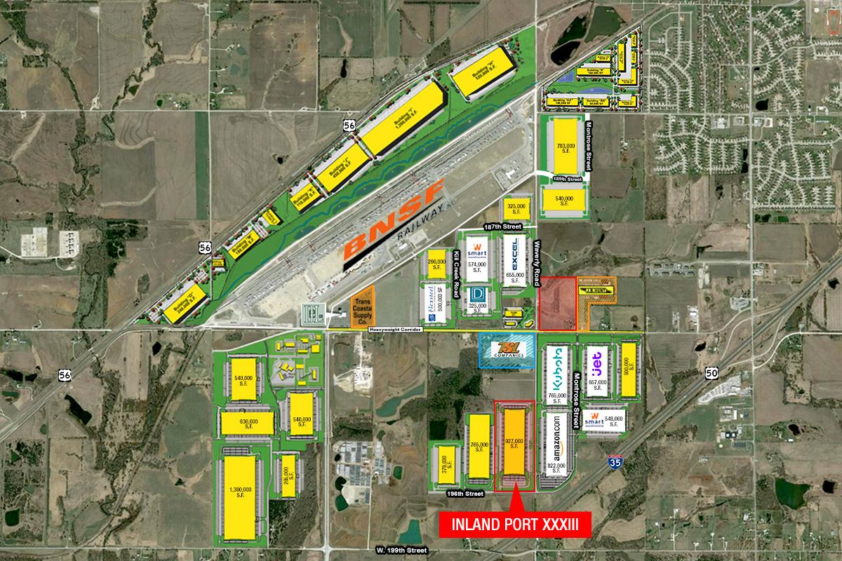 The Logistics Park Kansas City in Edgerton, Kan.