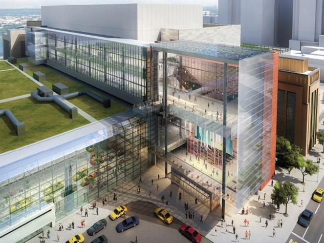 Javits Center expansion rendering