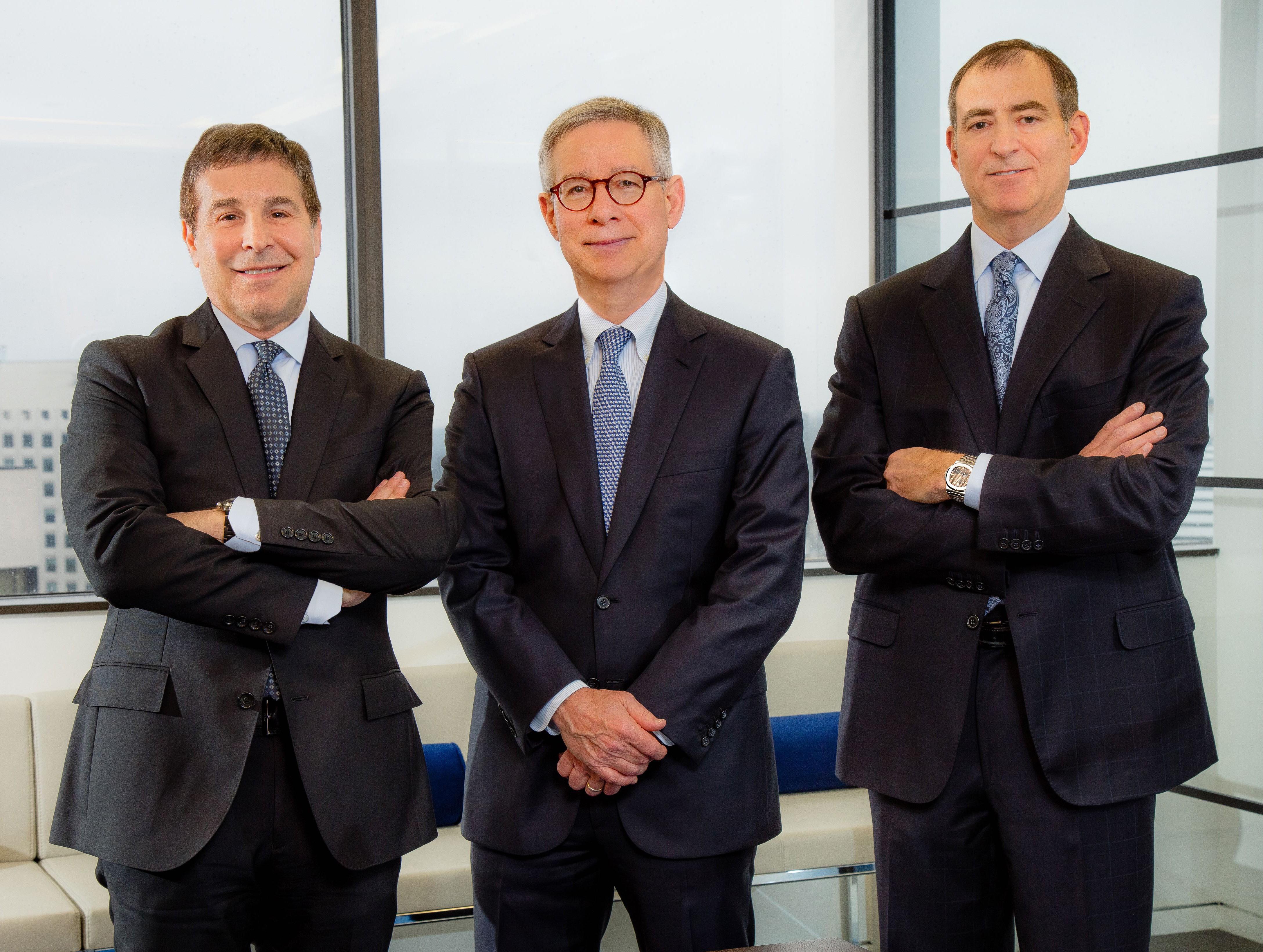 Left to right: Gary Block, David Cheek, Bruce Lane