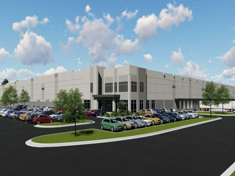 DeSoto 55 Logistics Center rendering