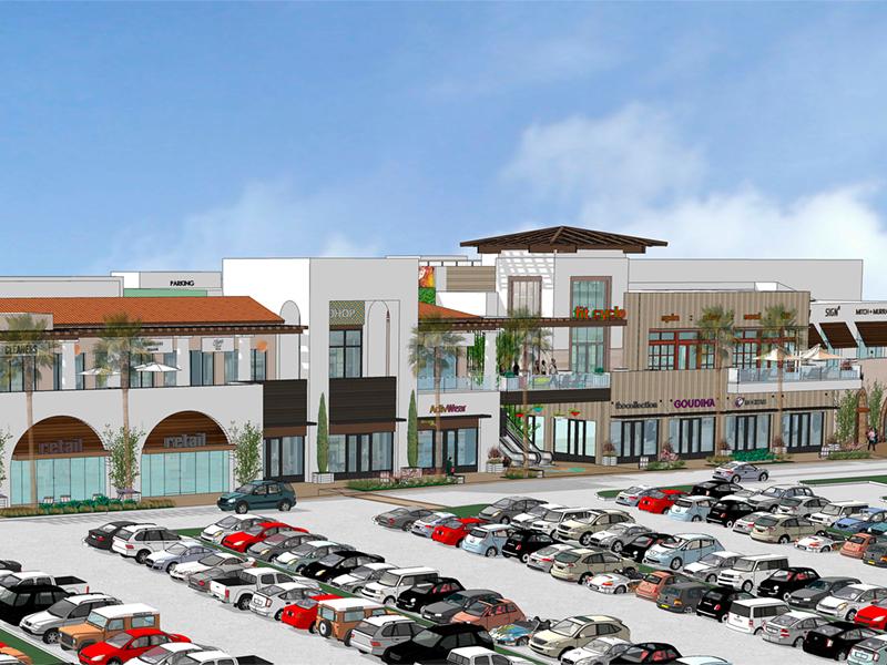 Rendering of Del Mar Highlands Town Center