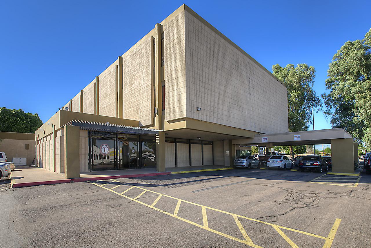 The Indian School Plaza in Phoenix