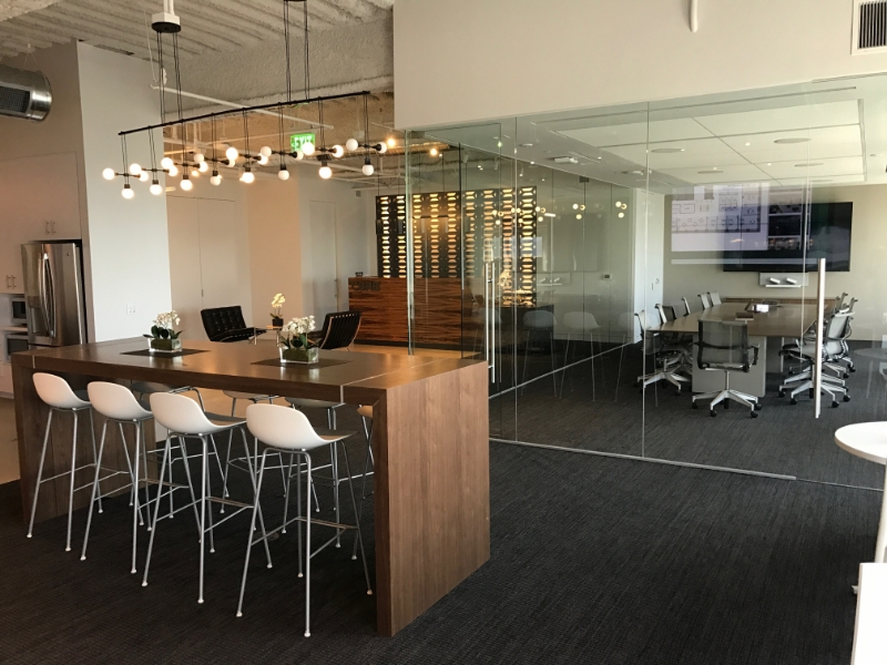CBRE's office at 1111 Broadway, Oakland