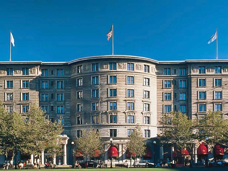 Fairmont Copley Plaza hotel in Boston