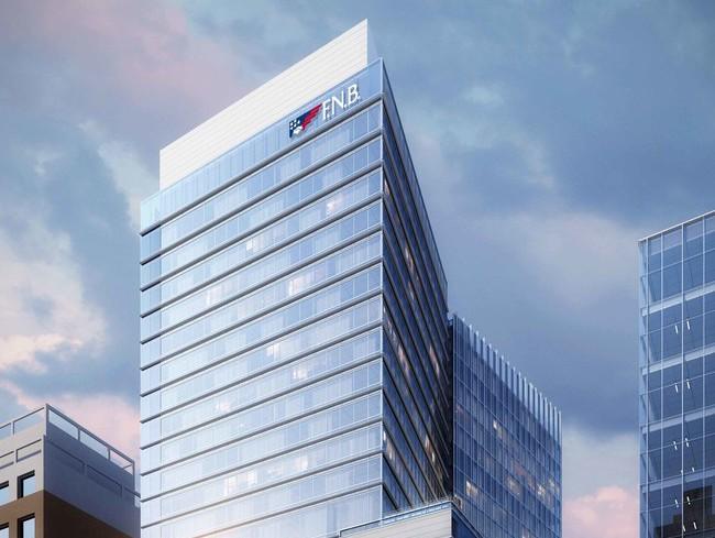 Rendering of FNB Tower, 501 Fayetteville Street in Raleigh, N.C.